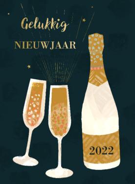 Nieuw jaar kaart   Greetz Tekst