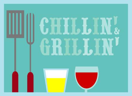 Uitnodiging chillen en grillen