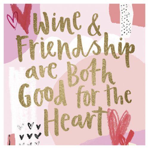 Vriendschap   UK greetings Wijn