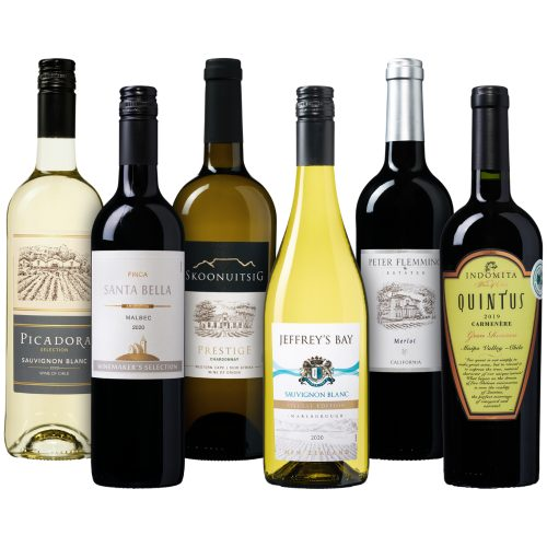Wijnpakket Nieuwe Wereld