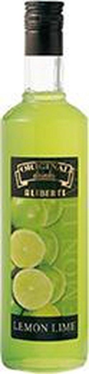 Aliberti Siroop Lemon Lime - Limoen - Cocktail Siroop - 700ml