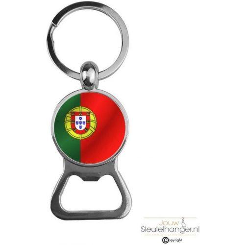 Bieropener Glas - Vlag Portugal