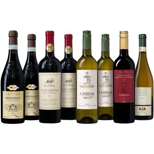 Bourgondisch Italiaans Wijnpakket