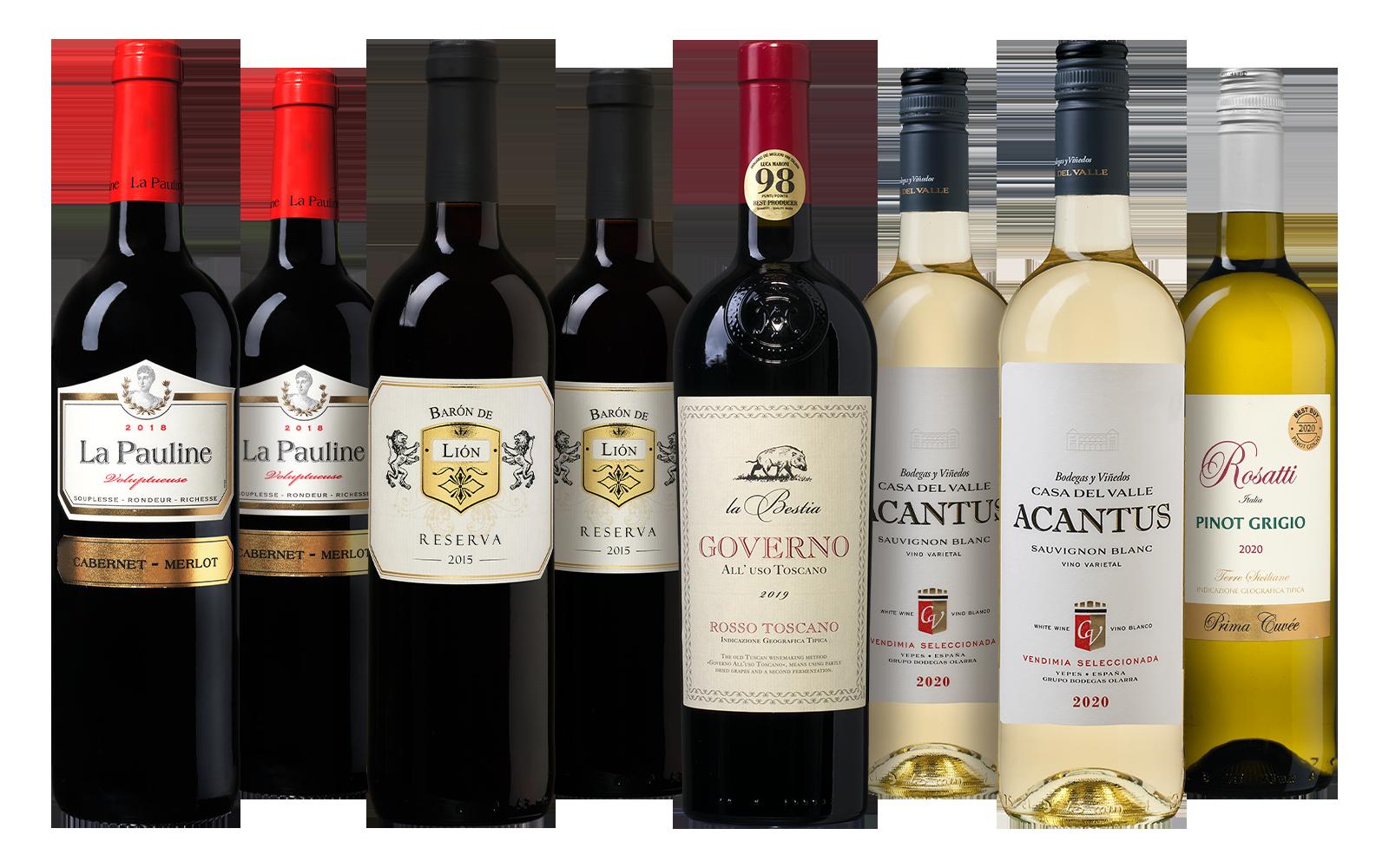 Favorieten Wijnpakket