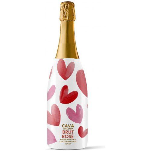 HEMA Cava Rosado Valentijn 0.75L