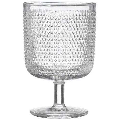 HEMA Wijnglas Bergen Bolletjes Reliëf 250ml