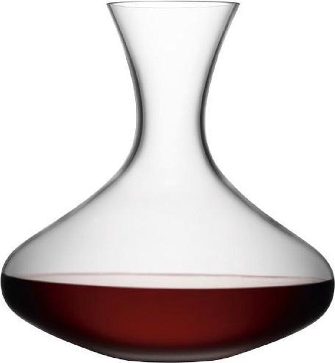 L.S.A. Wine Decanteer Karaf Glas - 2,4 liter