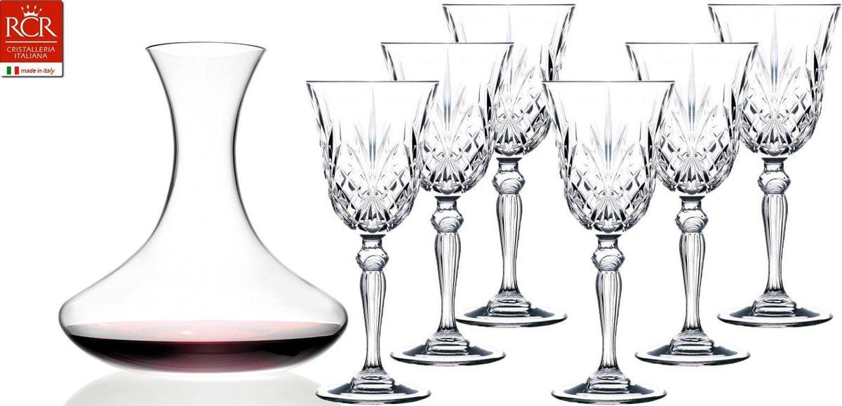 Melodia 27 cl wijnglazen plus decanter