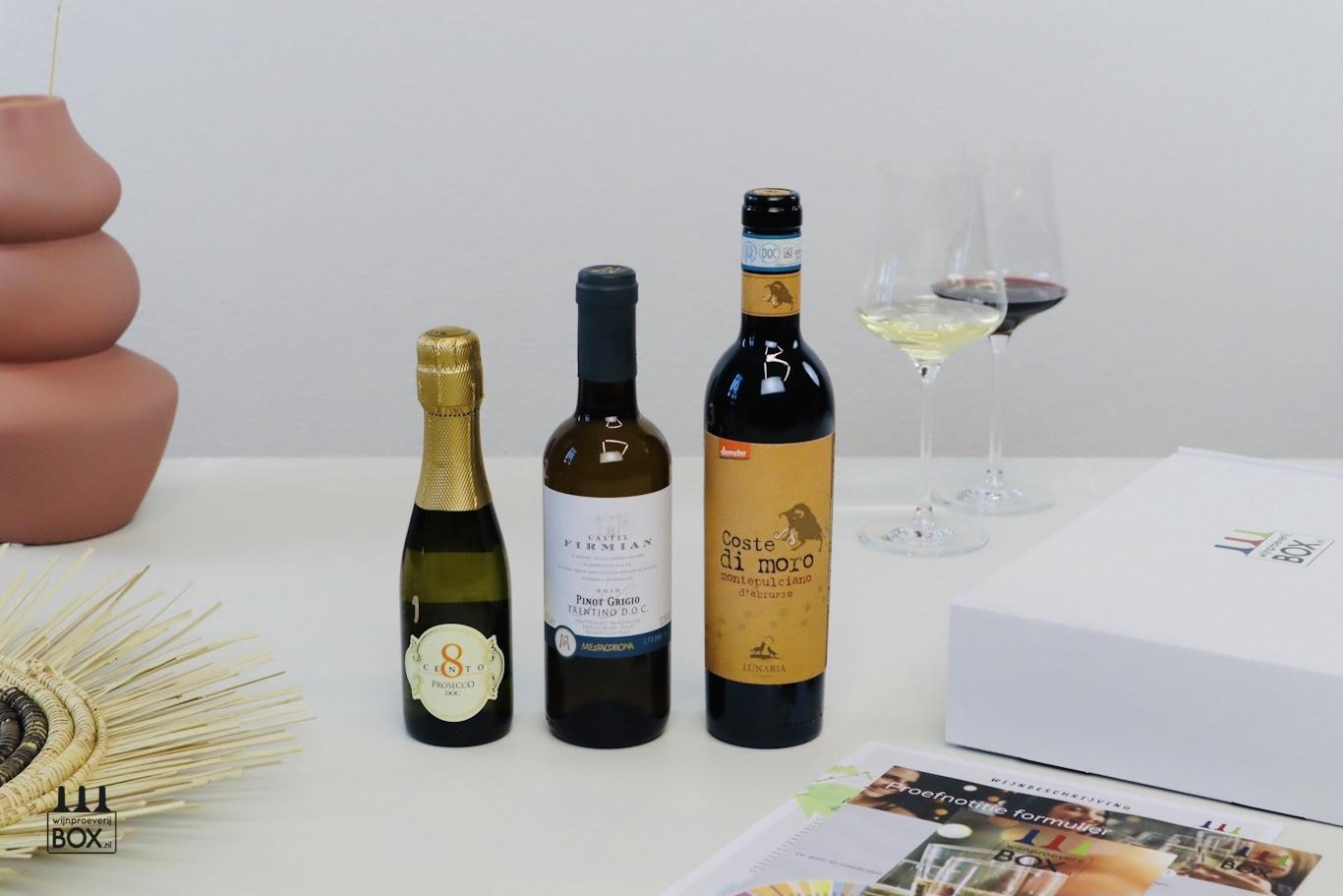 Nieuw! Mini-Wijntrip Italië