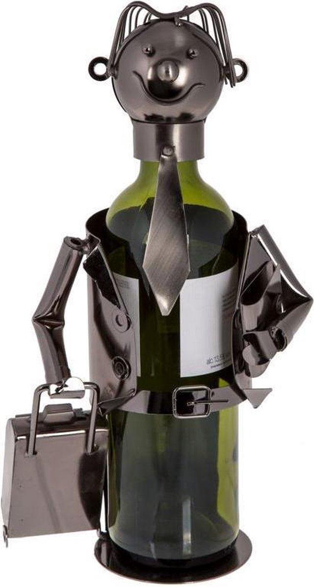 Out of the Blue wijnstandaard metaal zakenman
