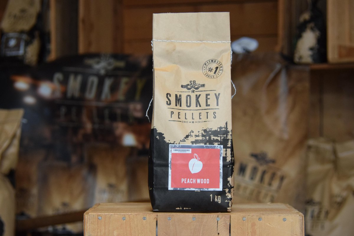 Smokey pellets Peach wood