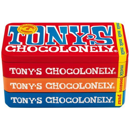 Tony's Chocolonely stapelblik