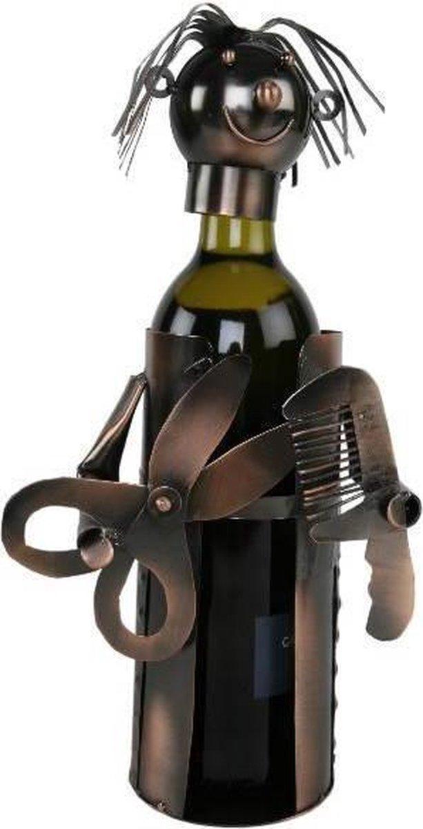 Wijnfleshouder Kapster