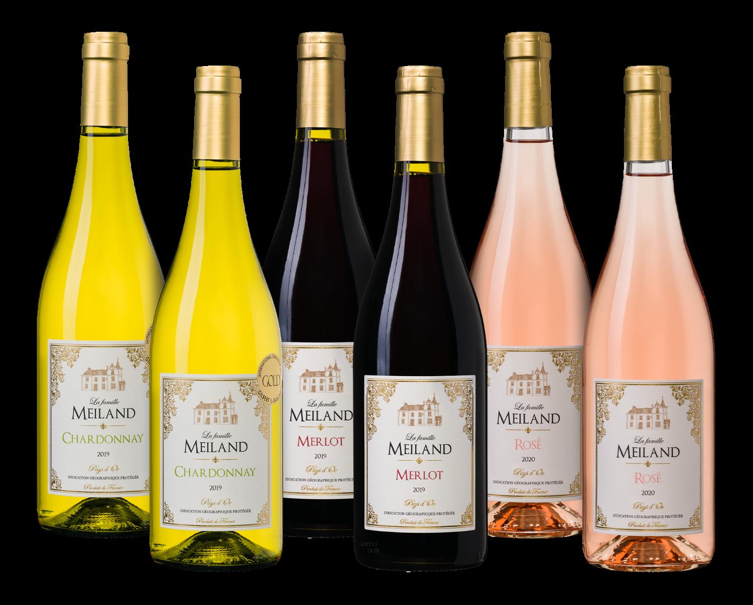 Wijnpakket Meiland (6 flessen)