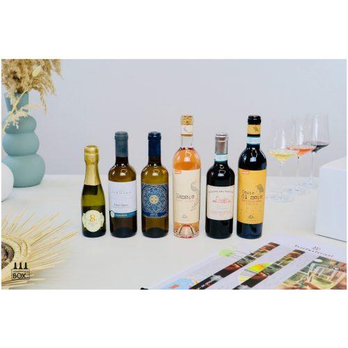 Wijnproeverijbox Nieuw! Mini-Wijnreis Italië