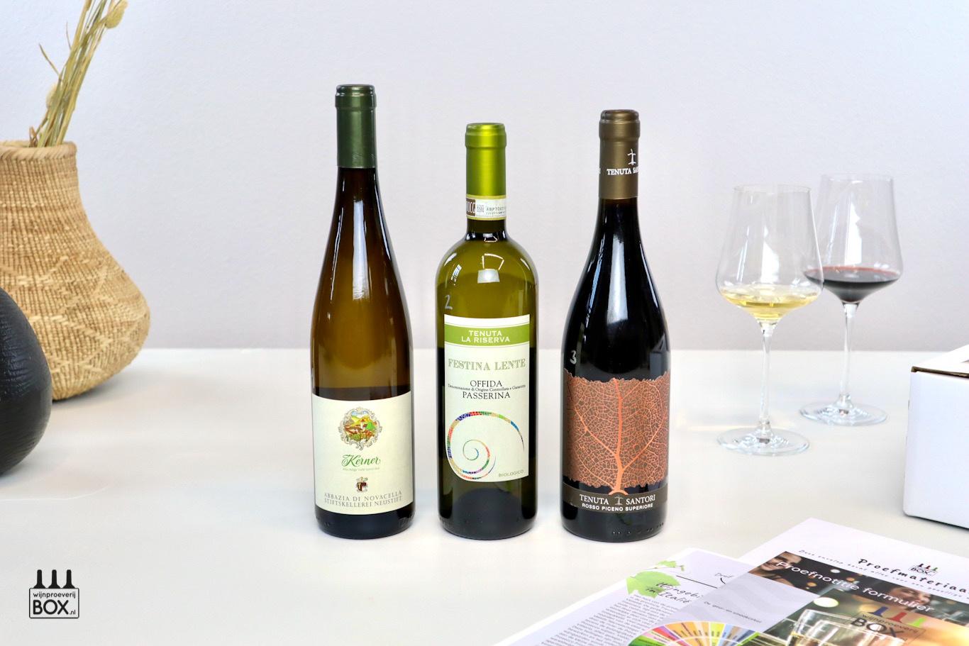 Wijnproeverijbox Wijntrip Verrassend Italië