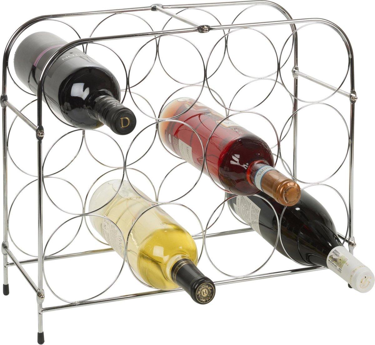 Wijnrek 12 Flessen - Wijn Flessenrek Wijnfleshouder Rek - Wijnflessenrek - Wijnhouder