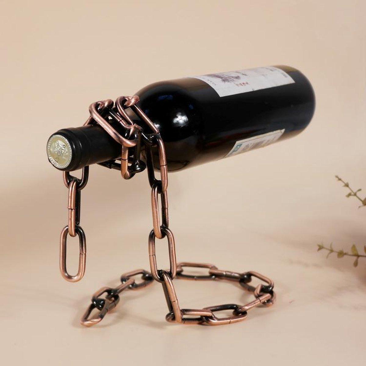 Wijnrek- wijnrek metaal- wijnrek- woonaccessoires- woondecoratie