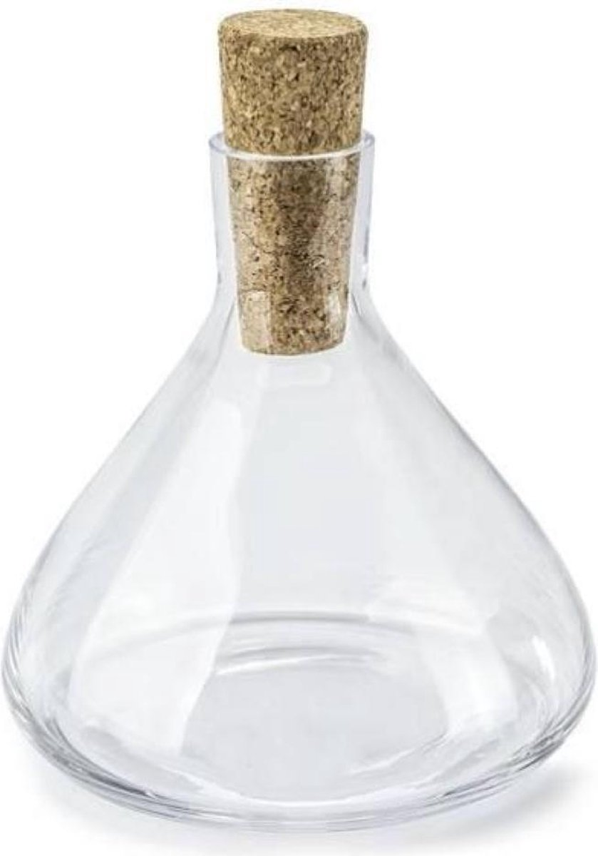 YILTEX - Karaf Met Stop - Waterkan - Decanter - Glas - 1.1l