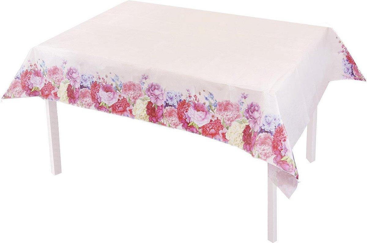 Cactula papieren tafellaken met bloemen uit de serie Fleurie 120 x 180 cm
