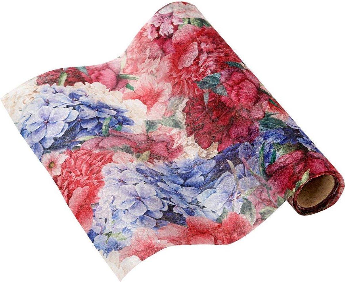 Cactula tafelloper van stof uit de serie Fleurie