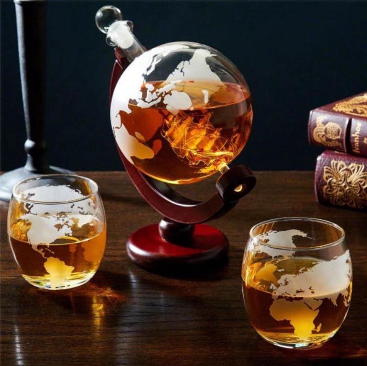 Globe Decanter - Wereld Karaf