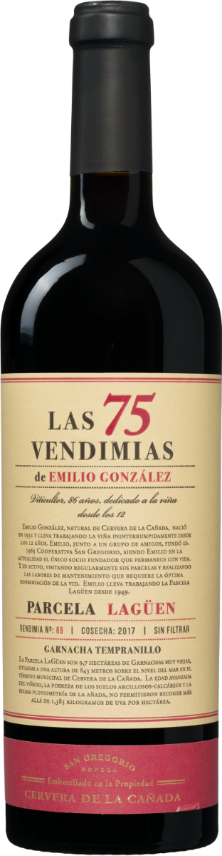 Las 75 Vendimias de Emilio Gonzalez Garnacha-Tempranillo