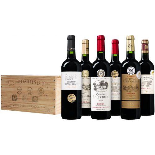 Les Medailles d'Or de Bordeaux Wijnkist Superieur