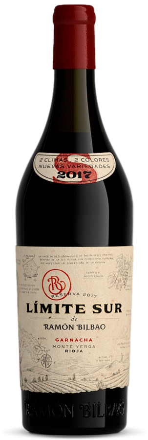 Ramon Bilbao Limite Sur, Granacha, 2017, Rioja, Spanje, Rode wijn