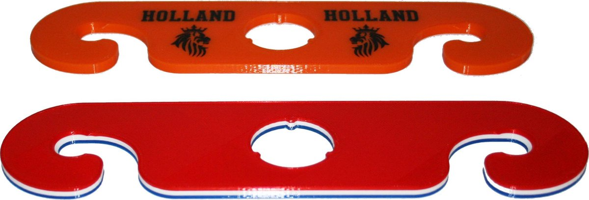 Wijnbutler / wijnglasdrager - set van 2 - Holland