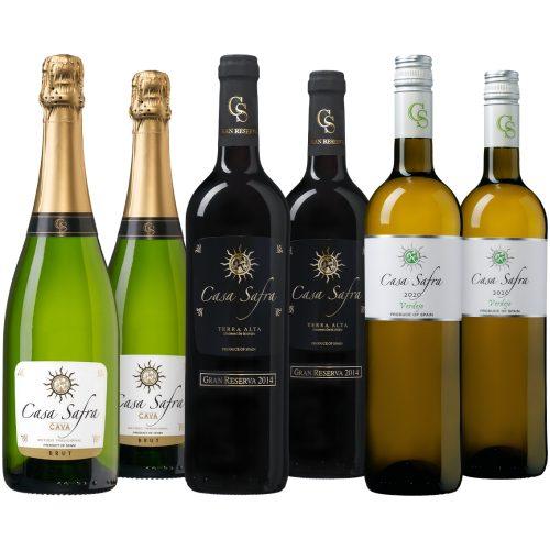 Wijnpakket Casa Safra