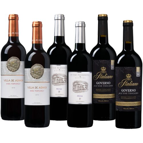 Bestseller pakket rode wijn