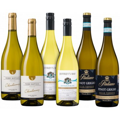 Bestsellerpakket witte wijn