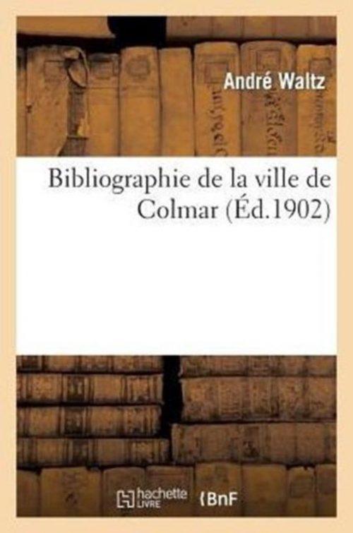 Bibliographie de la Ville de Colmar