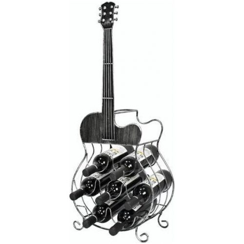 Bottle holder guitar