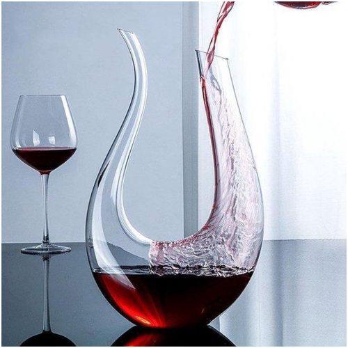 CPKG - Glazen Decanteer Karaf 1.5L - Elegante Wijn en Drank Accessoires