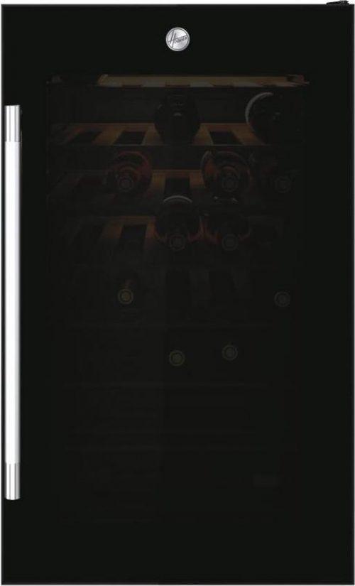 Hoover H-WINE 700 HWC 154 DELW - Thermo-elektrische Wijnkoelkast - 36 flessen - Zwart