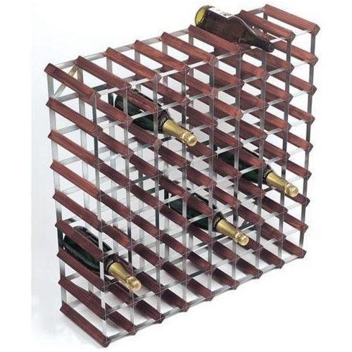 RTA - Traditional wine rack 72 bottles dark wood