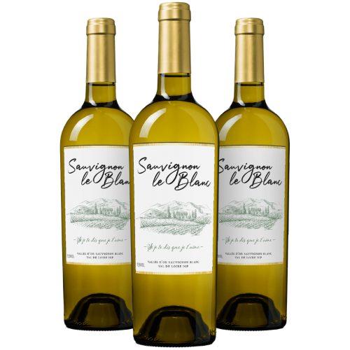 Wijnpakket Sauvignon le Blanc Pays d'Oc IGP (3 flessen)