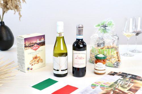Wijnproeverijbox Mini-Wijntrip Bella Italia