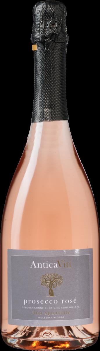 Antica Viti Prosecco Rosé DOC Vino Spumante Dry Millesimato