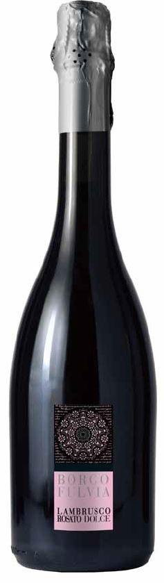 Borgofulvia Lambrusco Rosato Dolce, Italië, Mousserende rosé wijn