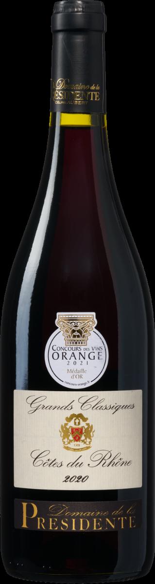 Domaine de la Présidente Grands Classiques Côtes du Rhône AOP