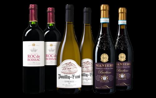 Grote Klassiekers Wijnpakket
