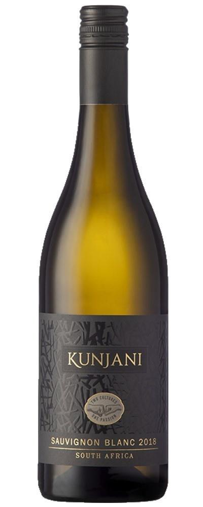 Kunjani Sauvignon Blanc, 2018, Paarl, Zuid-Afrika, Witte wijn
