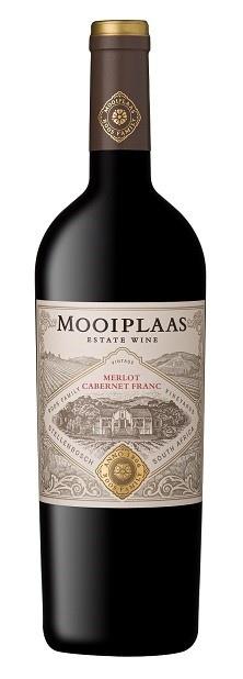 Mooiplaas Wine Estate Merlot-Cabernet Franc, 2015, Stellenbosch, Zuid-Afrika, Rode Wijn