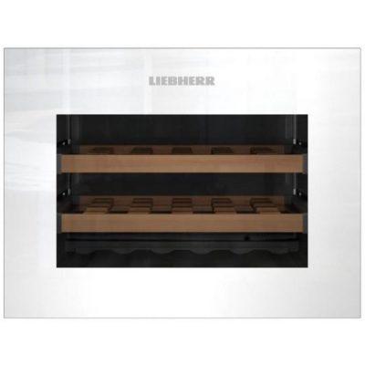 Liebherr WKEgw 582 GrandCru Compressorwijnkoeler Ingebouwd Zwart, Wit 18 fles(sen)