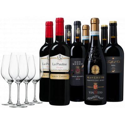 Luxe Wijnpakket + Glazen