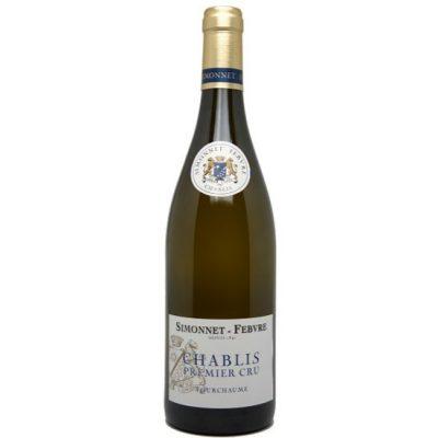 Simonnet Febvre Chablis Premier Cru Fourchaume, 2017, Chardonnay, Bourgogne, Frankrijk, Witte Wijn